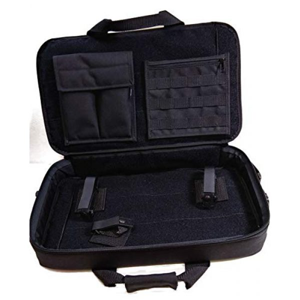 WRB Rifle Case 2 WRB Covert Sub Gun Case 23""