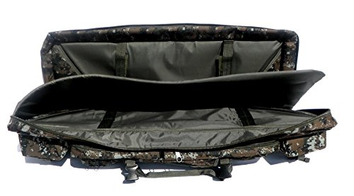 """East West U.S.A Airsoft Gun Case 6 East West U.S.A RTGC604 36"""" Double Tactical Molle Soft Padded Rifle Long Hunting Bag"""