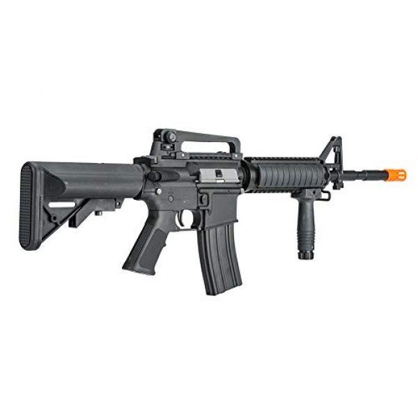 Lancer Tactical Airsoft Rifle 2 LANCER TACTICAL Gen 2 Upgraded RIS LT-04 AEG Metal Gear Electric Airsoft Gun, Black