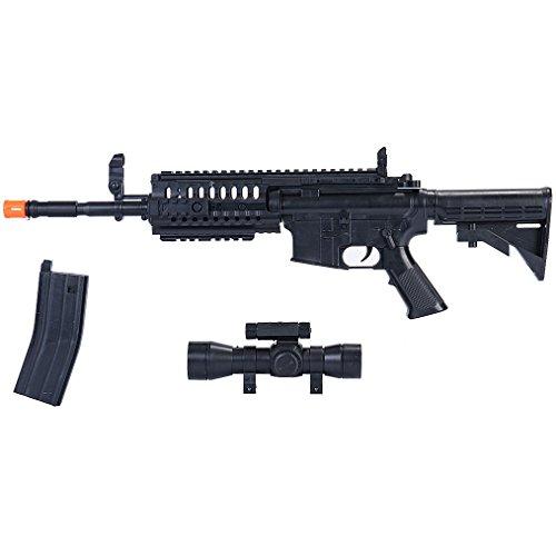 UKARMS Airsoft Rifle 6 UKArms M4 A1 M16 TACTICAL ASSAULT SPRING AIRSOFT RIFLE PELLET SNIPER GUN 6mm BB BBs Air