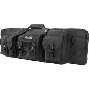 """Loaded Gear Rifle Case 1 Loaded Gear 36"""" Long Tactical Soft Rifle Pistol Gun Bag Case, Black"""