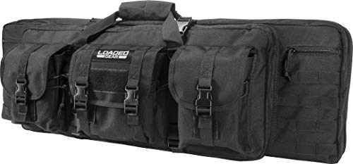 "Loaded Gear Airsoft Gun Case 1 Loaded Gear 36"" Long Tactical Soft Rifle Pistol Gun Bag Case"