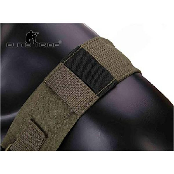 Elite Tribe Airsoft Tactical Vest 4 Elite Tribe MK3 Modular Lightweight Chest Rig Micro Fight Chissis 5.56 Mag Pouch