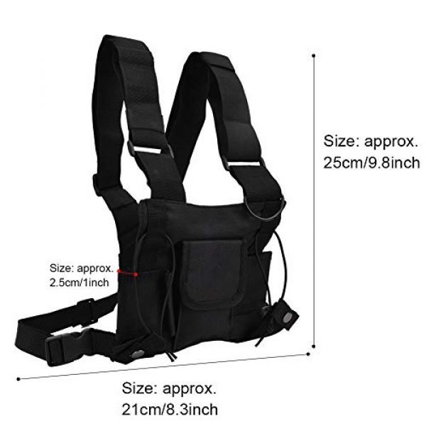 Alomejor Airsoft Tactical Vest 2 Alomejor Airsoft Vest Paintball Airsoft Protector Training Vest Waistcoat for Outdoor Camping Fishing Hiking Airsoft War Game