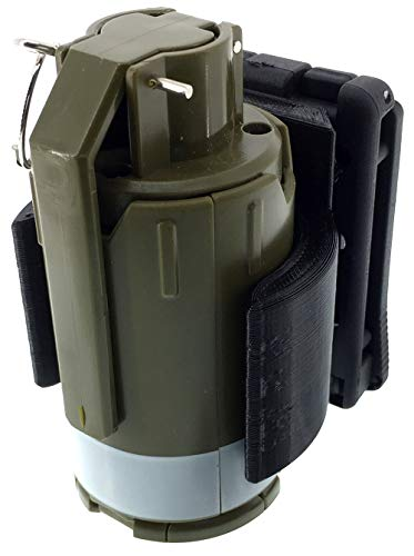 SportPro Airsoft Battery 2 SportPro 110 Round Plastic Spring Powered BB Impact Shower with Holder for Airsoft - Green