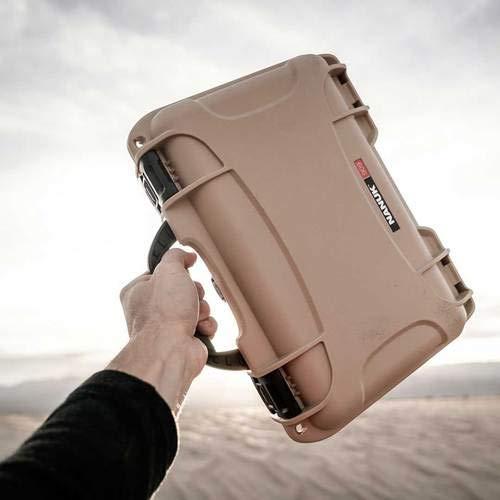 Nanuk Airsoft Gun Case 6 Nanuk 909 Pistol Case W/Foam (Tan)