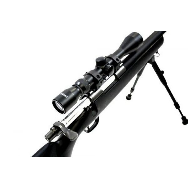 Well Airsoft Rifle 2 510 fps wellfire vsr-10 urban combat full metal bolt action sniper rifle w/ 3-9x40 scope & bipod package(Airsoft Gun)