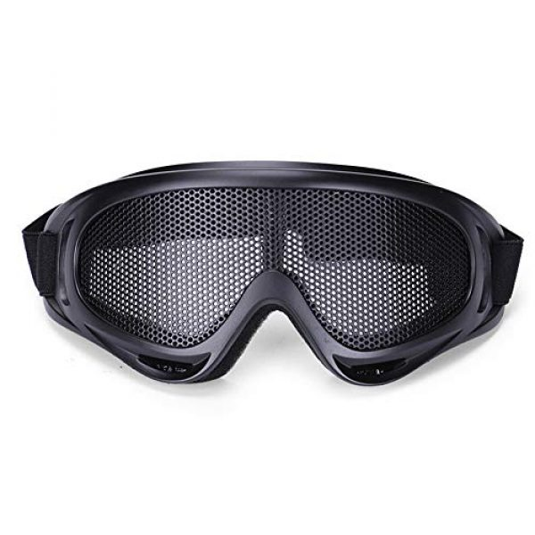 Sunny Airsoft Goggle 1 Outdoor Sports Airsoft Hunting Protention Gear Tactical Shooting X400 Metal Steel Wire Mesh Goggles