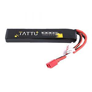 TATTU Airsoft Battery 1 TATTU 7.4V Airsoft LiPO Battery with Deans Connector