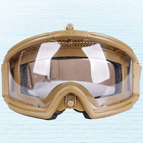 BESPORTBLE Airsoft Goggle 7 BESPORTBLE Military Goggles Hunting Eyewear for Paintball Riding Shooting Hunting Cycling CS Game (Black Style)