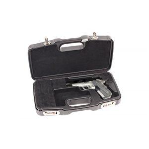 Negrini Cases Airsoft Gun Case 1 Negrini Cases 2018SR/5126 Dedicated 1911 Handgun Case, Black/Black