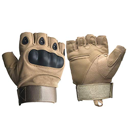 Iwinter Airsoft Glove 1 Iwinter Half Finger Airsoft Gloves Men