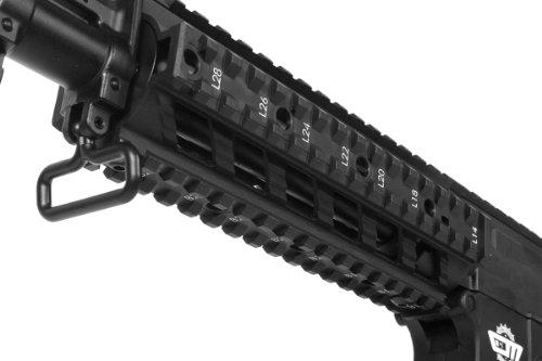 G&G  6 G&G airsoft combat machine m4 raider high-performance full metal gearbox aeg rifle w/ integrated ras and crane stock(Airsoft Gun)