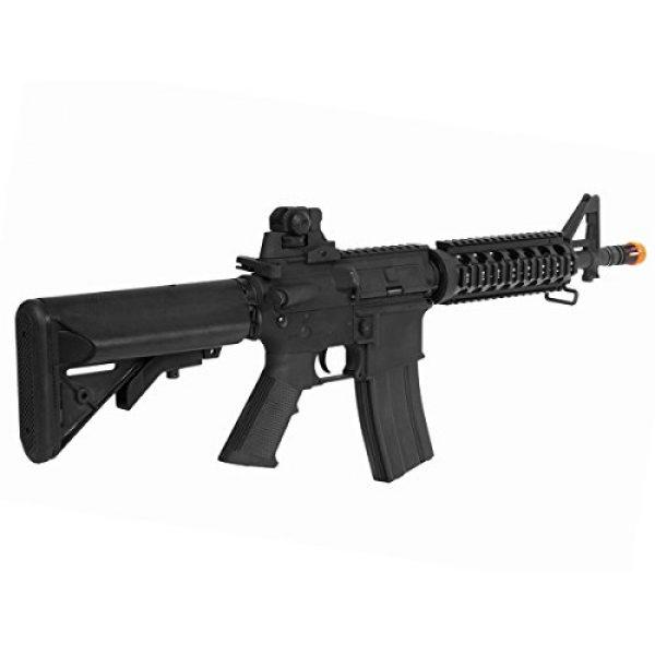 Colt Airsoft Rifle 3 Soft Air COLT M4 CQB Automatic Electric Airsoft Gun, Black