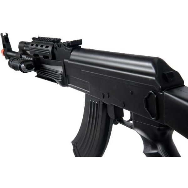 UKARMS Airsoft Rifle 4 UKARMS P48 Airsoft Gun Tactical AK-47 Spring Rifle with Flashlight FPS 250