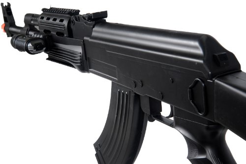 UKARMS  4 UKARMS P48 Airsoft Gun Tactical AK-47 Spring Rifle with Flashlight FPS 250
