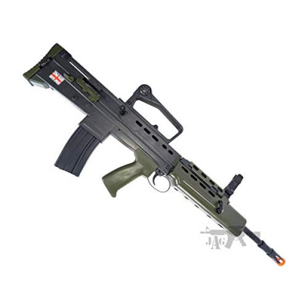 HFC Airsoft Rifle 1 HFC Airsoft Spring Tactical Rifle British Army SA80 Full Size 320FPS Bolt Action with Rail