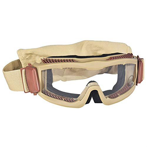 Destinie Airsoft Goggle 2 Destinie Lancer Tactical Airsoft Vented Safety Goggles Glasses Eye Wear Googles TAN