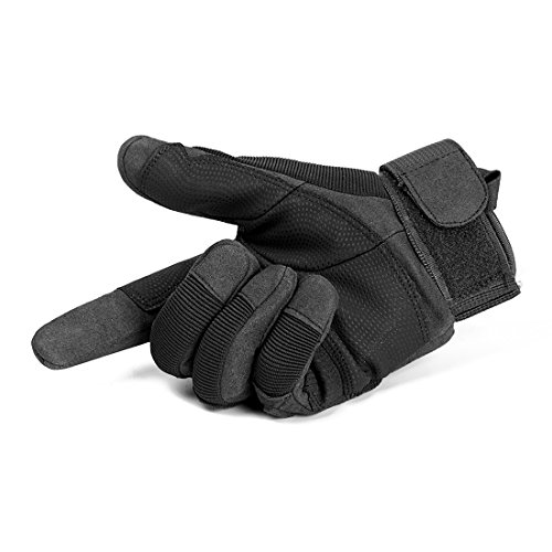 SHAPA Airsoft Glove 3 Military Tactical Gloves Full Finger Rubber Hard Knuckle Gloves for Hunting Airsoft Paintball