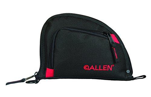 """Allen Company Airsoft Gun Case 1 Allen Compact One Pocket 7"""" Auto-Fit Handgun Case"""