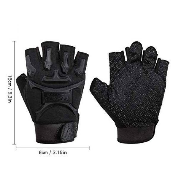 ACVCY Airsoft Glove 3 ACVCY Cycling Fingerless Gloves