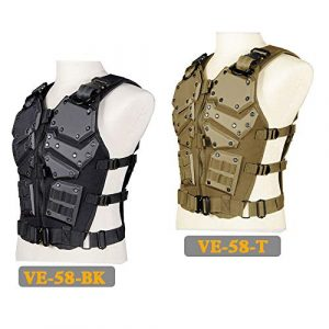 Tactical Area  3 Tactical Area Military Airsoft Paintball Vest King Kong Vest Outdoor Camping War Game Vest