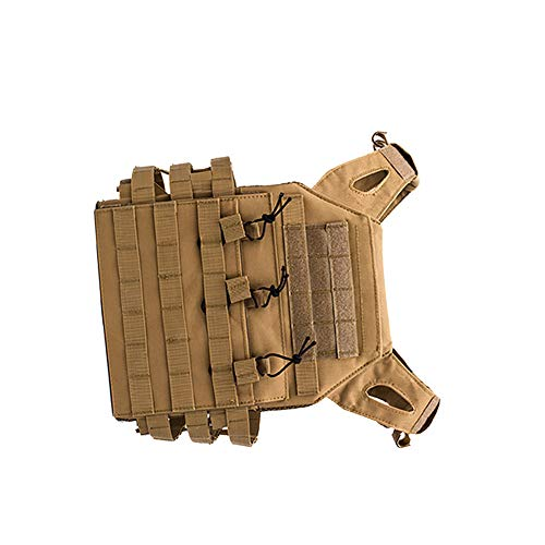 YaptheS Airsoft Tactical Vest 3 YaptheS Tactical Chest Vest Camouflage Airsoft Chest Protector Molle Vest Outdoor Sports Body Armor for Outdoor Activities Free Size