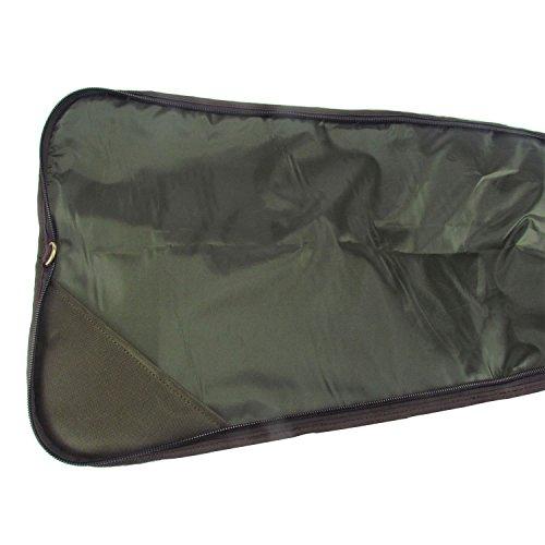 TOURBON  4 TOURBON Nylon Gun Case for Shotgun Rifle with Zipper Pocket