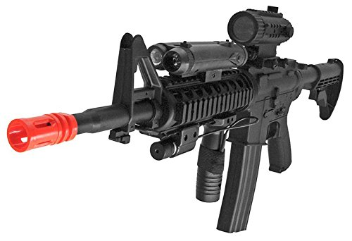 Loaded w/Tactical Accessories(Airsoft Gun)