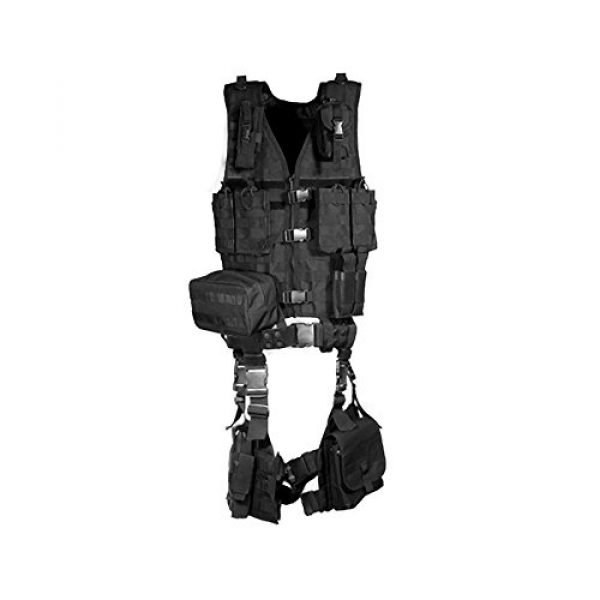 UTG Airsoft Tactical Vest 1 UTG Ultimate Tactical Gear Modular 10 Piece Complete Kit