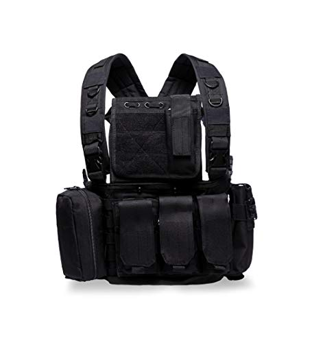 MINGWANG Airsoft Tactical Vest 1 MINGWANG Tactical Vest Outdoor Training Chest Rigs