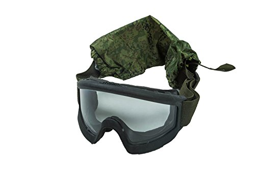 Kirasa Airsoft Goggle 7 6B34 Original Tactical Goggles of Russian Army (3rd Generation) Ratnik Kit