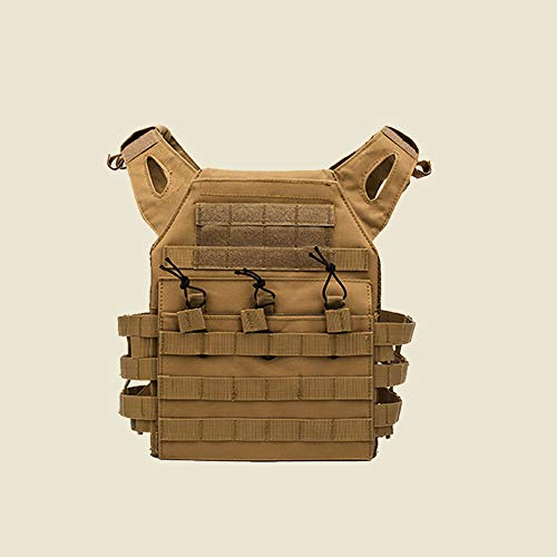 YaptheS Airsoft Tactical Vest 4 YaptheS Tactical Chest Vest Camouflage Airsoft Chest Protector Molle Vest Outdoor Sports Body Armor for Outdoor Activities Free Size