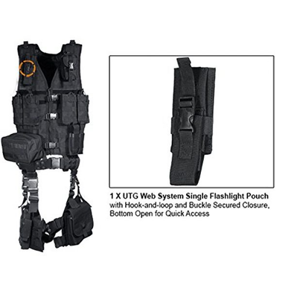 UTG Airsoft Tactical Vest 6 UTG Ultimate Tactical Gear Modular 10 Piece Complete Kit