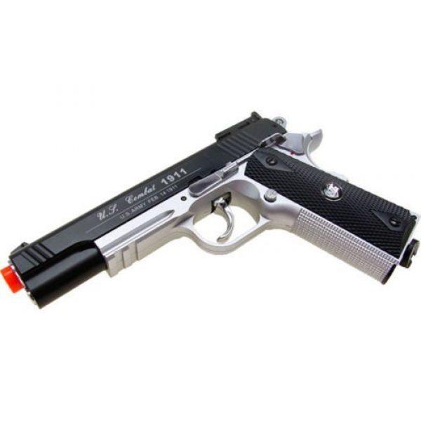 WG Airsoft Pistol 4 500 fps new wg airsoft full metal m 1911 gas co2 hand gun pistol w/ 6mm bb bbs(Airsoft Gun)