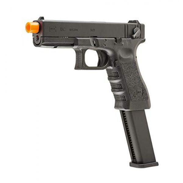 Elite Force Airsoft Pistol 2 Elite Force Glock 18C Gen3 GBB Blowback 6mm BB Pistol Airsoft Gun, Black