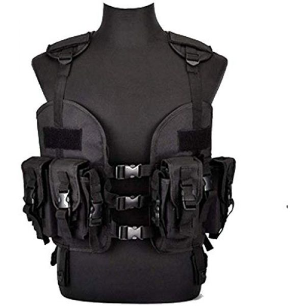 Tactical Area Airsoft Tactical Vest 3 Outdoor Sealed Tactical Vest with Removable Water Bag, Airsoft Paintball, Combat Combat, Commando CS Field Equipment.