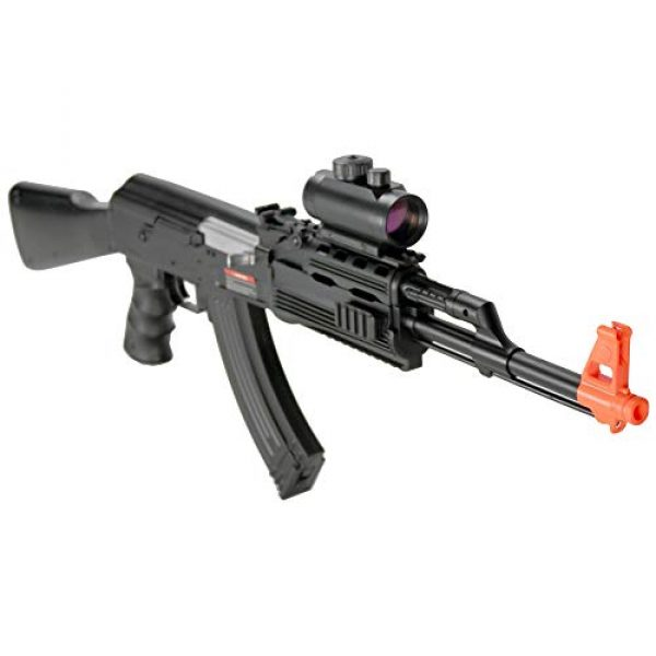 BBTac Airsoft Rifle 4 BBTac Airsoft Electric Gun AK BT-022 Fully Automatic Rifle, Great for Starter, with Semi & Safe Mode