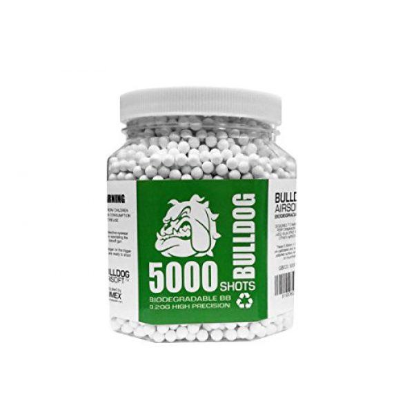 BULLDOG AIRSOFT Airsoft BB 1 Bulldog Airsoft Biodegradable BB Pellets (0.20, 5000)