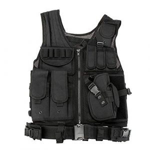 Fouos Airsoft Tactical Vest 1 Fouos Tactical Vest Camouflage Vest Body Armor Molle Outdoor Equipment Paintball Airsoft Combat Protective Vest Men