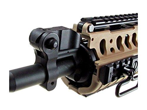 Golden Eagle Airsoft Rifle 7 jg full metal gearbox desert tan aeg w/ integrated rail and high performance tight bore barrel - newest enhanced model(Airsoft Gun)