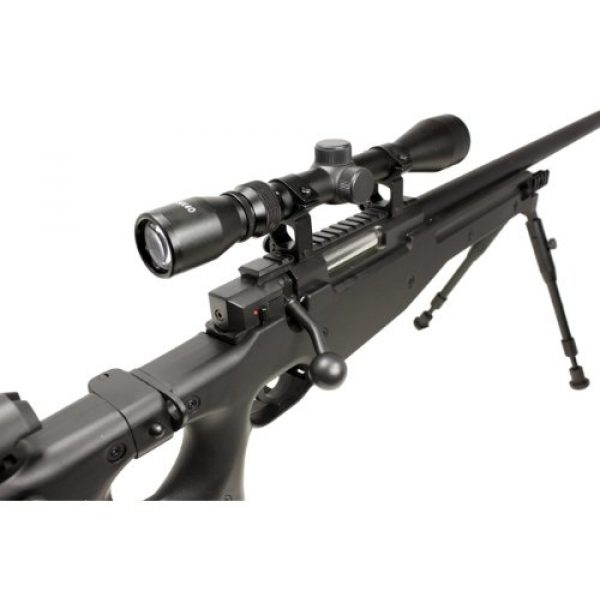 Well Airsoft Rifle 3 Well l96 spring sniper airsoft rifle w/ bi-pod and scope(Airsoft Gun)