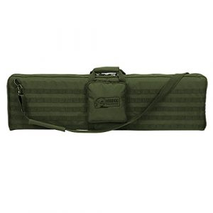 """VooDoo Tactical Airsoft Gun Case 1 VooDoo Tactical 15-0171 44"""" Padded Weapons Case w/Shoulder Strap Holds One Rifle"""