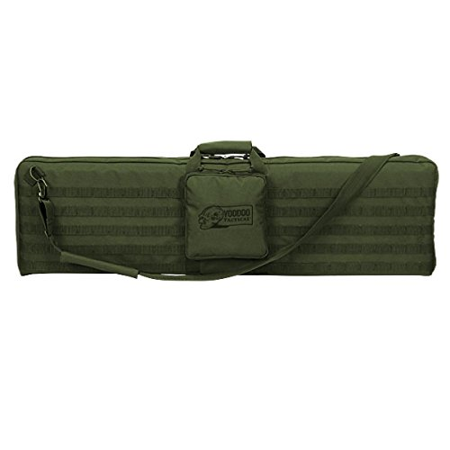"VooDoo Tactical Airsoft Gun Case 1 VooDoo Tactical 15-0171 44"" Padded Weapons Case w/Shoulder Strap Holds One Rifle"