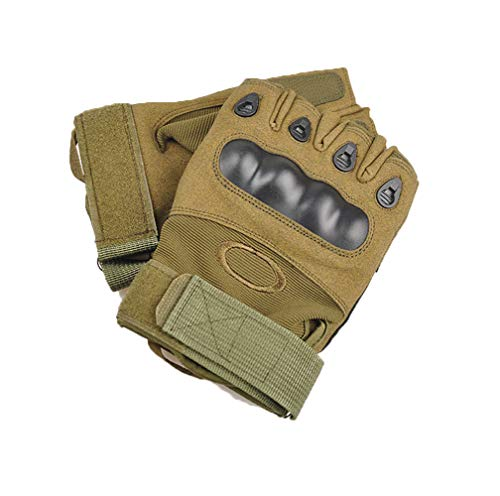 Jolies Airsoft Glove 3 Jolies Army Tactical Gloves Outdoor Full Finger and Half Finger Military Rubber Hard Knuckle Airsoft Paintball Gloves for Motorcycle Cycling Hunting Hiking Camping