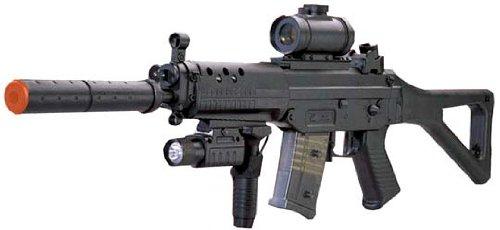 CYMA  1 CYMA Navy Seal Assault Rifle SG 552 Airsoft Electric Gun