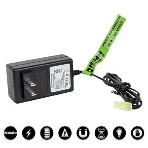 Valken Airsoft Battery Charger 1 Valken Airsoft Charger - NiMH Fast 1A Smart 8.4V-12V (USA)