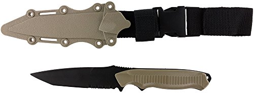 SportPro Airsoft Tool 1 SportPro Rubber Combat Knife 141 Style for Training Airsoft Dark Earth