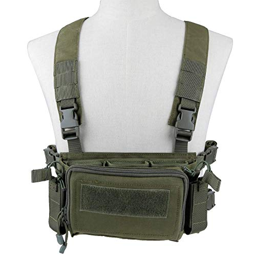Kayheng Airsoft Tactical Vest 2 Kayheng Tactical Vest Airsoft Ammo Chest Rig 5.56 9mm Magazine Carrier with Molle Flatpack Backpack