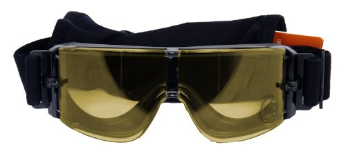 Lancer Tactical Airsoft Goggle 1 Lancer Tactical CA-234 Frameless Safety Airsoft Goggles (Yellow Lens)